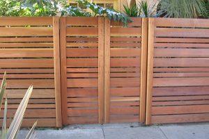 Wood Fences #7