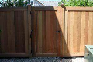 Wood Fences #9