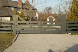 Wooden Entry Gates #8
