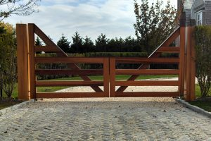Wooden Entry Gates #9