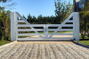 Wooden Entry Gates #10