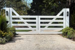 Wooden Entry Gates #11