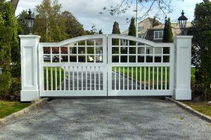 Wooden Entry Gates #33