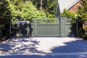 Wooden Entry Gates #14