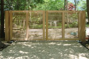 Wooden Entry Gates #16