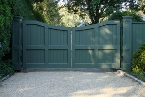 Wooden Entry Gates #17