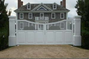 Wooden Entry Gates #18