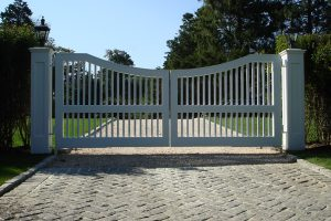 Wooden Entry Gates #28