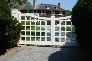 Wooden Entry Gates #19