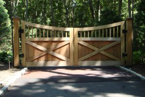 Wooden Entry Gates #29