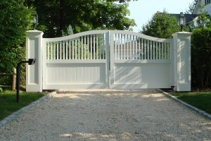 Wooden Entry Gates #20