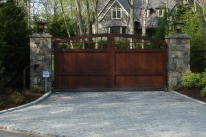 Wooden Entry Gates #21