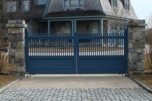 Wooden Entry Gates #22