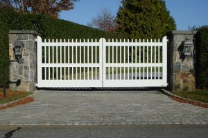Wooden Entry Gates #23