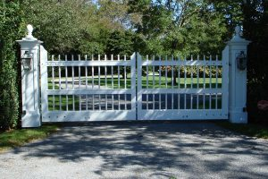 Wooden Entry Gates #31