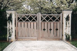 Wooden Entry Gates #2