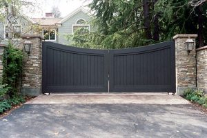 Wooden Entry Gates #24