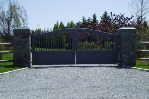 Wooden Entry Gates #25