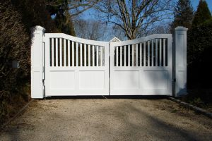 Wooden Entry Gates #26