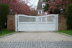 Wooden Entry Gates #27