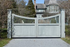Wooden Entry Gates #3
