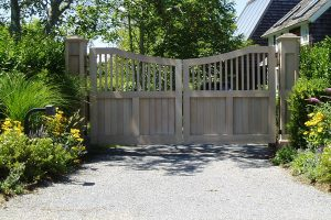 Wooden Entry Gates #4
