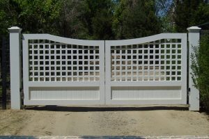 Wooden Entry Gates #5