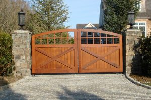 Wooden Entry Gates #6