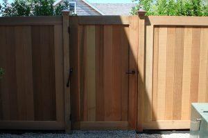 Wood & AZEK Gates #12
