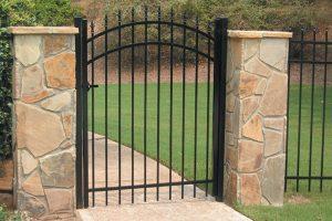 Metal Walk Gates #1