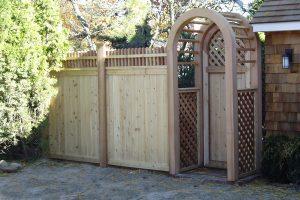Wood & AZEK Gates #22