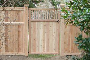 Wood & AZEK Gates #10
