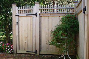 Wood & AZEK Gates #19